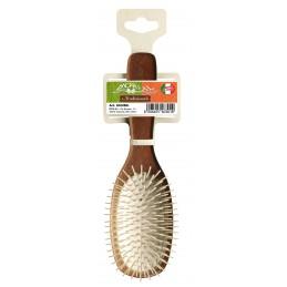 Hair brush beech wood...