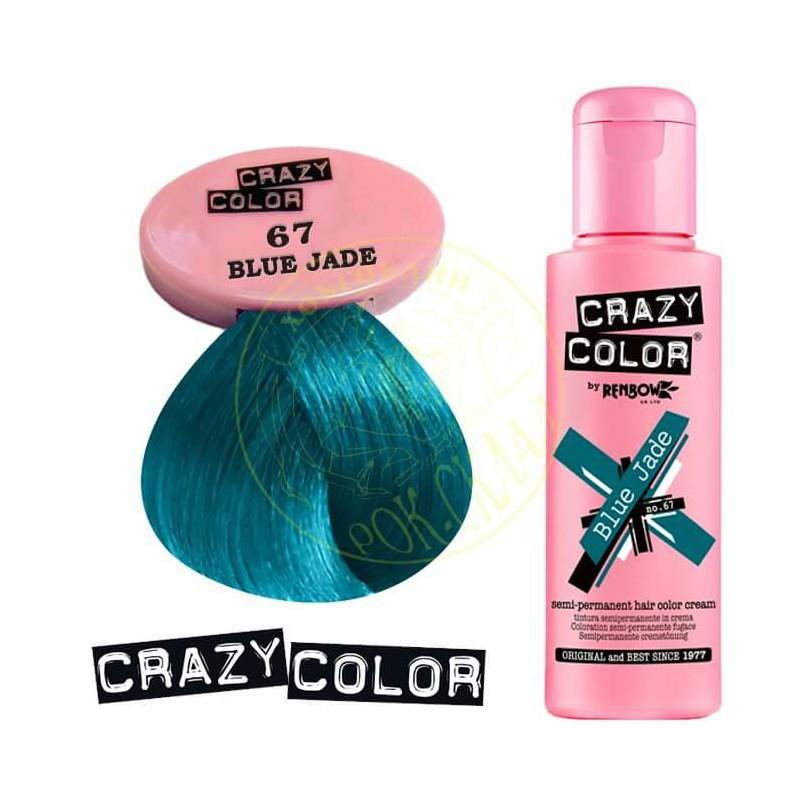 Crazy Color Crazy Color Semi Permanent Hair Colour Dye Cream By