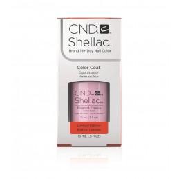 Shellac nail polish - FRAGRANT FREESIA CND - 1
