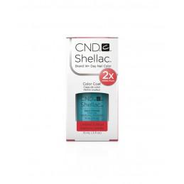Shellac nail polish - AQUA-INTANCE CND - 1