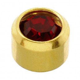 24 CT Gold Plate Studs
