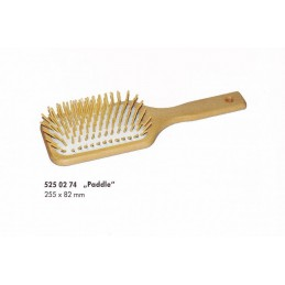 Hair brush with cushioning,...