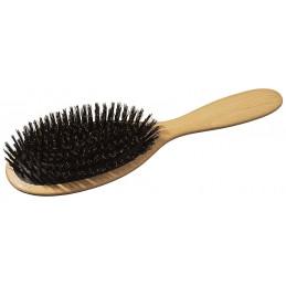 Hair brush with cushioning...